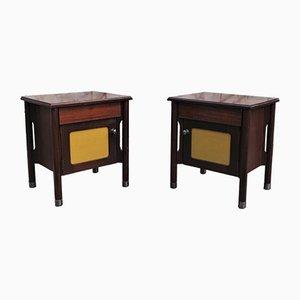 Tables Console en Palissandre, 1970s, Set de 2