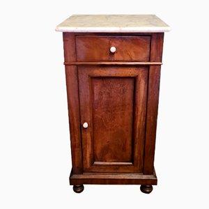 Antique Dutch Mahogany Bedside Table