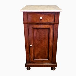 Table de Chevet Antique en Acajou, Pays-Bas