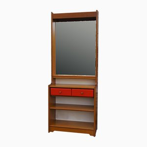 Beech Mirrors, 1970s, Set of 2