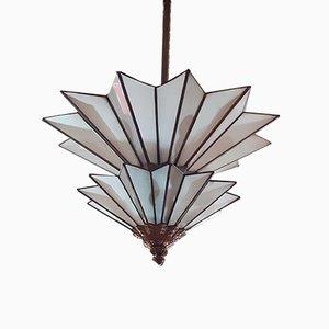 Antike Jugendstil Deckenlampe