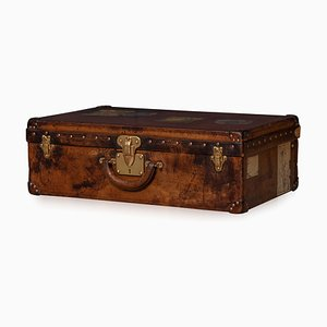 20th Century Leather Suitcase in Cow Hide from Louis Vuitton, France