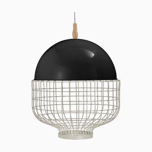 Lampe à Suspension Magnolia avec Structure Laquée par Utu Soulful Lighting