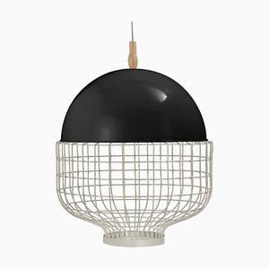 Magnolia Suspension Lamp with Lacquered Structure by Utu Soulful Lighting