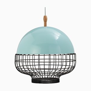Magnolia I Suspension Lamp with Lacquered Structure by Utu Soulful Lighting