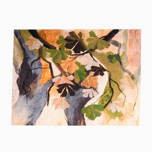Wall Tapestry Die Bäume by Zoja Elchlepp, 1981