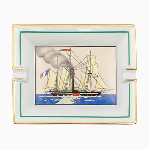 French Sailing Ashtray from Hermès, 1960s