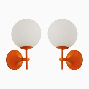Sputnik Sconces by Max Bill for Temde, 1960s, Set of 2
