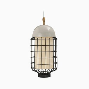 Magnolia II Suspension Lamp with Lacquered Structure by Utu Soulful Lighting