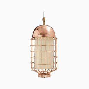 Lampe à Suspension Magnolia II avec Structure en Laiton ou en Cuivre par Utu Soulful Lighting