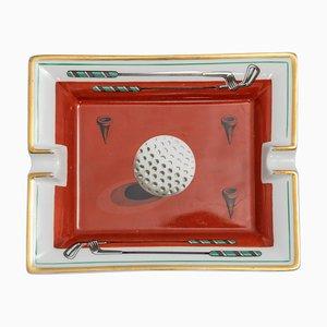 Französisches Golf Aschenbecher von Hermès, 1960er