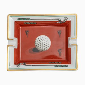 French Golfing Ash Tray from Hermès, 1960s