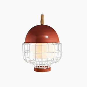 Magnolia III Suspension Lamp with Lacquered Structure by Utu Soulful Lighting