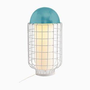 Magnolia Tischlampe mit lackierter Tischplatte von Utu Soulful Lighting
