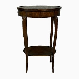 Antique Louuis XV Marquetry Console Table, 1880s