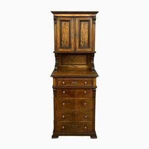 Napoleon III Walnut Cabinet, 1870s