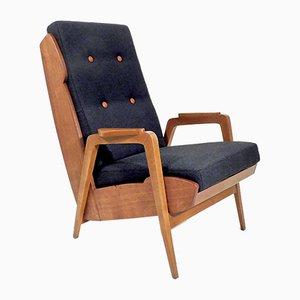 High-Backed Armchair, 1950s