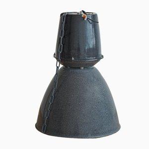Vintage Czech Industrial Ceiling Lamp for Elektrosvit, 1970