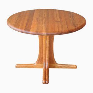Solid Teak Extendable Dining Table, 1970s