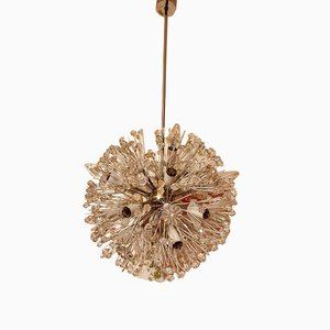 Snowflakes Ceiling Lamp by Emil Stejnar for Rupert Nikoll, 1960s