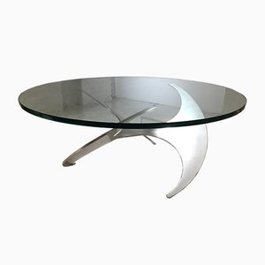 Mid-Century Properller Coffee Table by Knut Hesterberg for Ronald Schmitt, 1960s