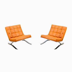 Mid-Century Armchairs by Rudolf Horn for Röhl, 1960s, Set of 2