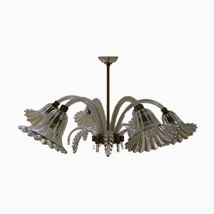 Chandelier by Archimede Seguso for Seguso, 1930s