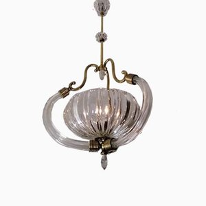 Chandelier by Ercole Barovier for Barovier & Toso, 1920s