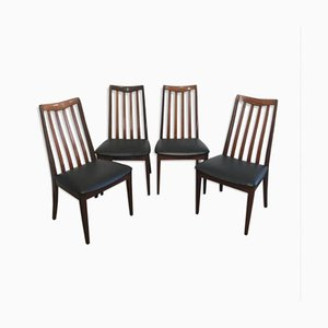 Side Chairs by Leslie Dandy for G-plan, 1960s, Set of 4
