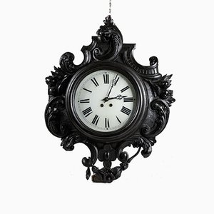 Carved Liberty Clock