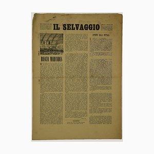 Mino Maccari - Price- Il Selvaggio XVIII - Vintage Art Magazine - 1940