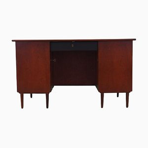 Danish Walnut Desk, 1960s