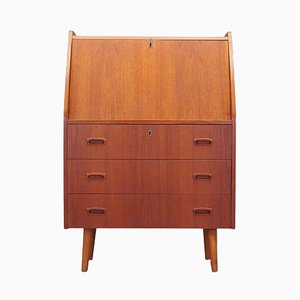 Danish Teak Secretaire, 1970s