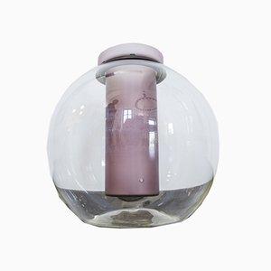 Vintage Vase aus geblasenem Glas von Gianfranco Frattini für Progetti