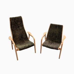 Chaises Lamino par Yngve Ekström pour Swedese, 1960s, Set de 2