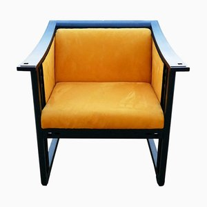 Model 61960 Lounge Chair by UMBERTO ASNAGO for Giorgetti, 1984