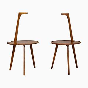 TN6 Coffee Tables by Franco Albini for Poggi, 1953, Set of 2