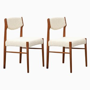 Teak Dining Chairs from SAX, 1960s, Set of 2