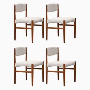 Dining Chairs from Glostrup, 1960s, Set of 4