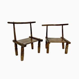 Mid Century Ivory Coast Baoulé Chair
