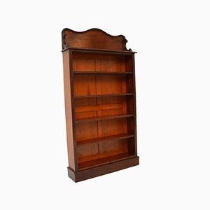 Antique William IV Open Bookcase