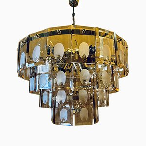 Deckenlampe aus Muranoglas, 1970er