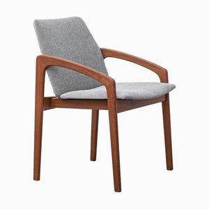 Model 23 Dining Chairs by Henning Kjærnulf for Korup Stolefabrik, 1960s, Set of 4
