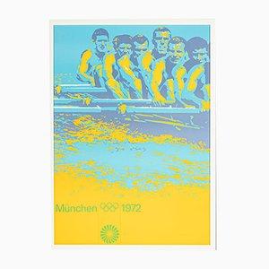 München 1972 Poster von Otli Aicher, 1970er