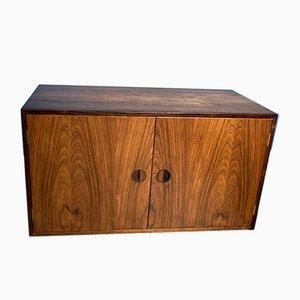 Danish Rosewood Cabinet Module, 1950s