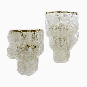 Murano Glass Sconces, 1970s, Set of 2