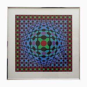 Serigrafie von Victor Vasarely, 1970er