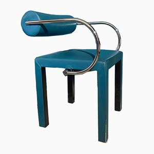 Arcadia Leder Armlehnstuhl von Paolo Piva für B & B Italia / C & B Italia, 1980er