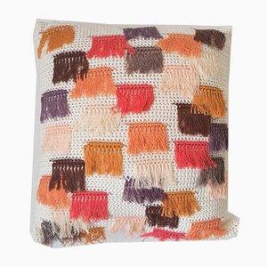 Warm Colored Franjas Pillow from Com Raiz