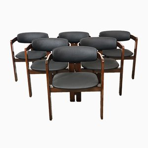 Pigreco Chairs by Tobia & Afra Scarpa, 1959, Italy, Set of 6